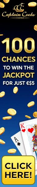 CaptainCooks Casino - 100 chances to be a millionaire
